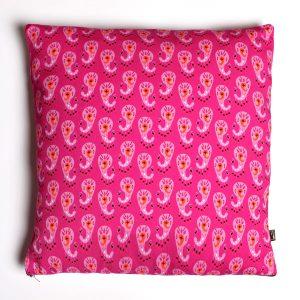 Jastuk Tropical Pink Paisleys