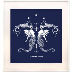 Uramljeni poster Mermaids