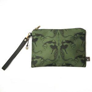 Mala ručna torba Mermaids green