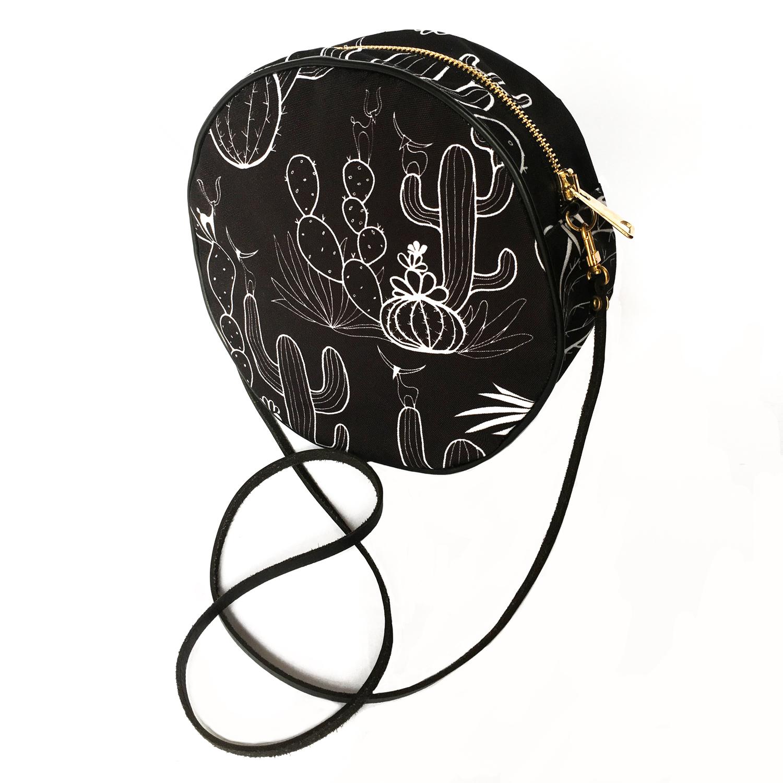 trendy okrugla torba sa kaktusom