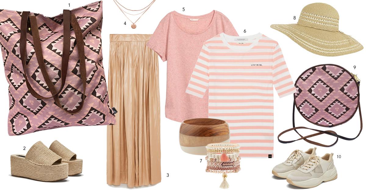 shop the look roze torba Twiga Pattern Bazaar