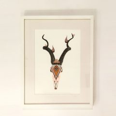boho poster sa motivom antilope