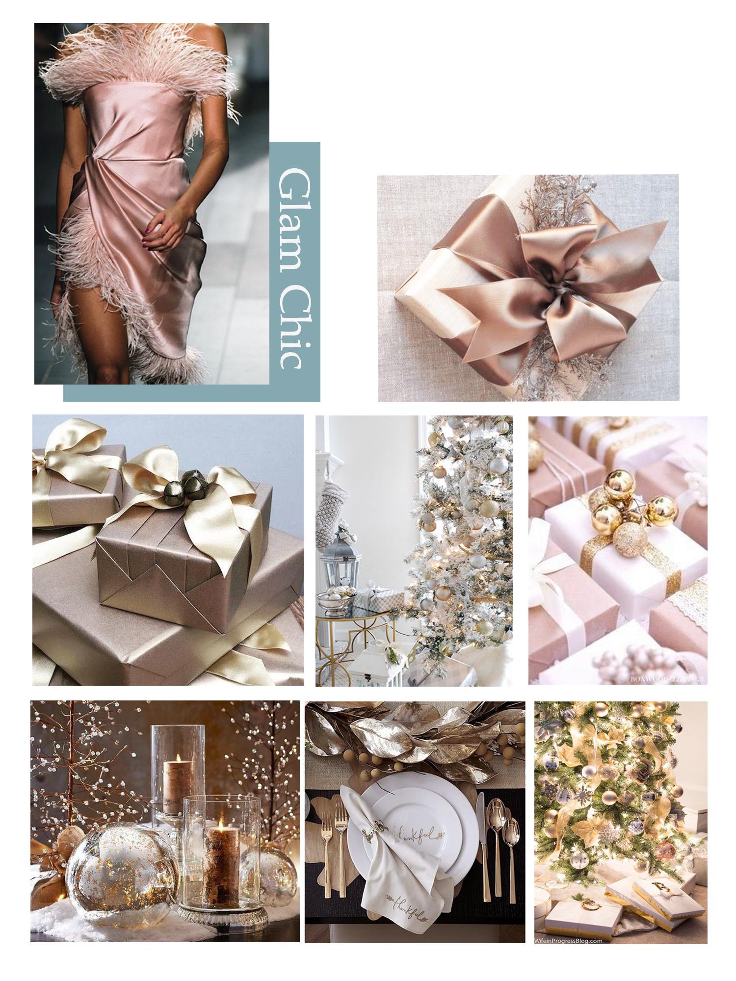 nova godina dekoracija ukrasi pokloni