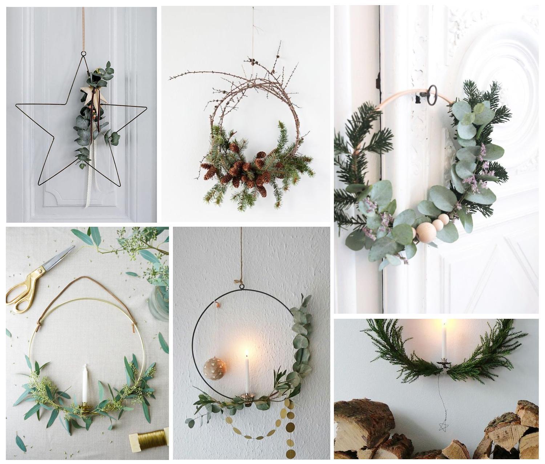 novogodisnji ukrasi, dekoracija, vencic