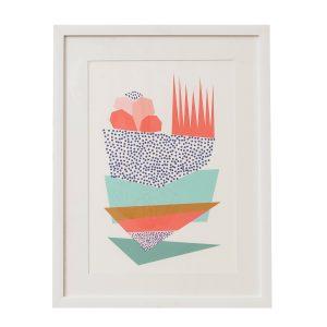 slika poster Marine Twiga Pattern Bazaar