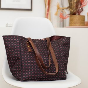 dizajnerska torba sa ornemnetima Twiga Pattern Bazaar
