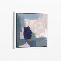 Ilustracija na platnu Drops Blue