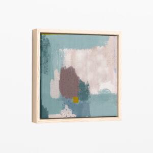 Ilustracija na platnu Drops Turquoise