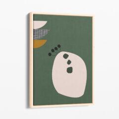 Ilustracija na platnu Organic Green